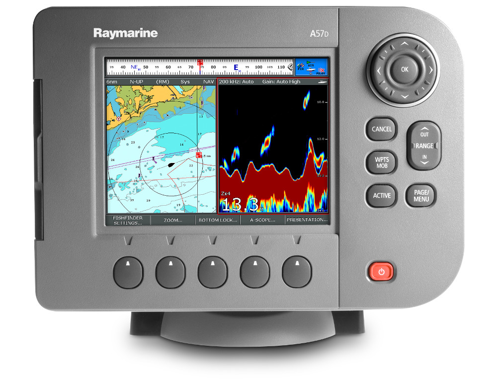 Interfacing to Raymarine A50D A57D and A70D Units Sonar
